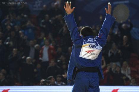 Грузинский дзюдоист Бека Гвиниашвили стал Чемпионом Мира