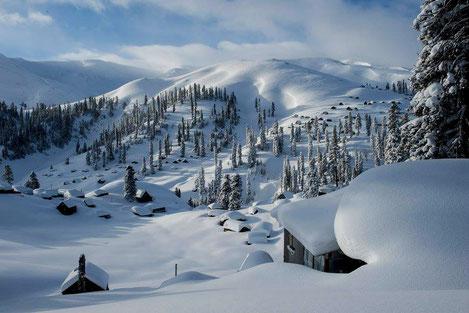 Чистейший воздух, белоснежный снег... : Сказочный уголок Грузии, «Бахмаро»