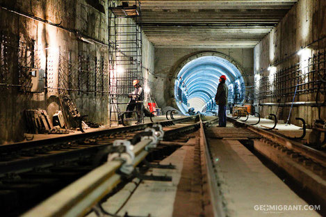 В Тбилиси возобновлено строительство метро