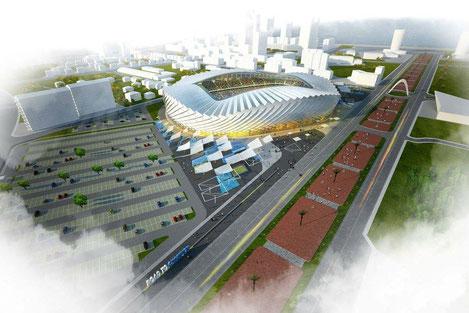 Строительство стадиона, соответствующего стандартам УЕФА, началось в Батуми