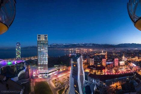 Грузия начинает рекламировать Батуми в России