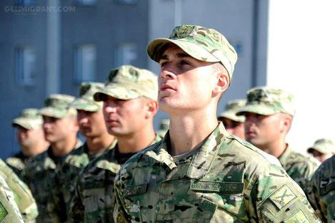 Грузия упраздняет обязательную военную службу