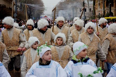 Грузия празднует великий праздник «Рождество Христова»
