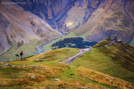 На холмах Грузии прекрасной...
