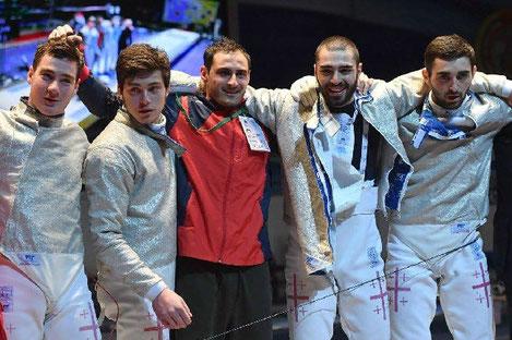 Грузинские саблисты стали чемпионами Европы