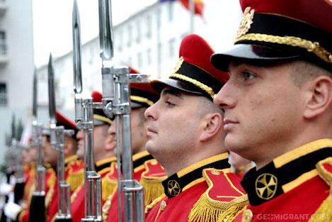 В Грузии отметили 25 летие создания Национальной Гвардии