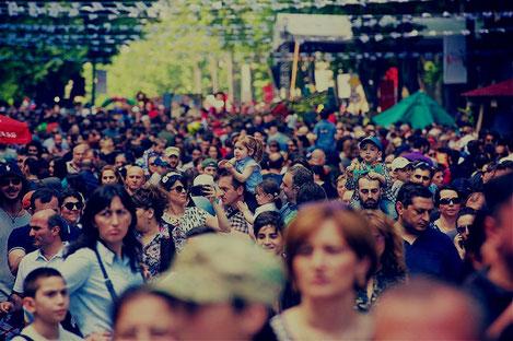 Население Грузии снизилось до 3,718,200 человек