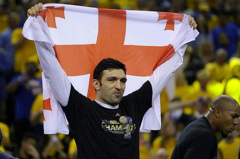 Заза Пачулия посвятил титул чемпиона NBA Грузии