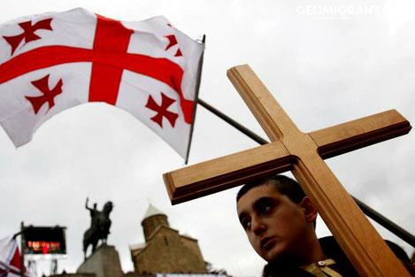 В Грузии отметили День памяти 100000 мучеников