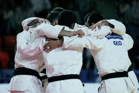 Сборная Грузии по дзюдо стала девятикратным чемпионом Европы