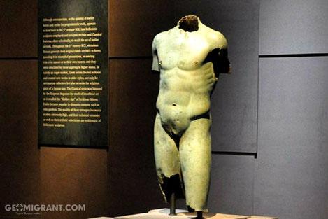 Бронзовая скульптура I-II веков до нашей эры из Грузии выставлена в Музее Гетти в Лос-Анджелесе
