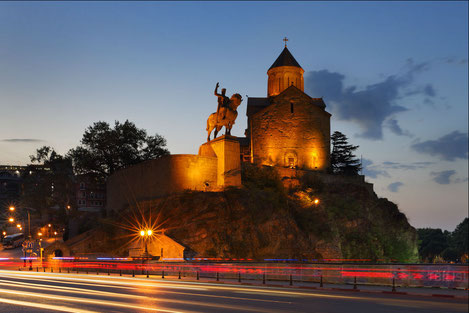 «Тбилиси - город с большим сердцем...»