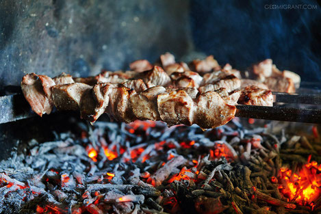 Старинный рецепт настоящего грузинского шашлыка