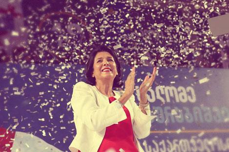 Впервые президентом Грузии избрана женщина