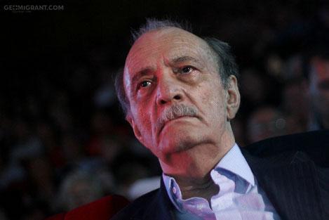 В Тбилиси открыта именная звезда легендарного режиссера Георгия Данелия