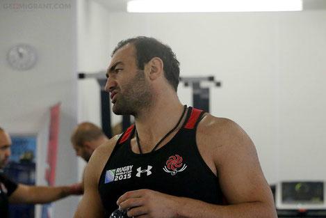 Капитан сборной Грузии по регби Мамука Горгодзе вошел в символическую сборную Мира