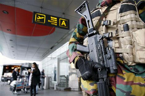 Журналист из Грузии сообщила о взорвавшейся в аэропорту Брюсселя сумке