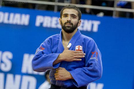 Нугзар Таталашвили завоевал золотую медаль Гран-при по дзюдо