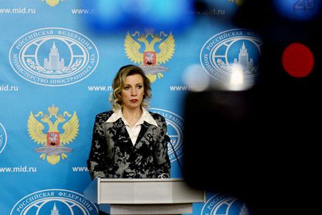 Мария Захарова: «Энергия и Любовь помогут наладить отношения народов Грузии и России»