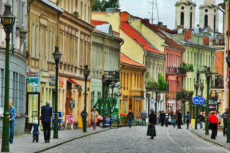 В Вильнюсе открылся сквер имени «Тбилиси»