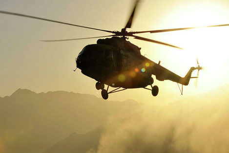 Президент Грузии наградил «Орденом Чести» экипаж вертолета за героическое спасение людей