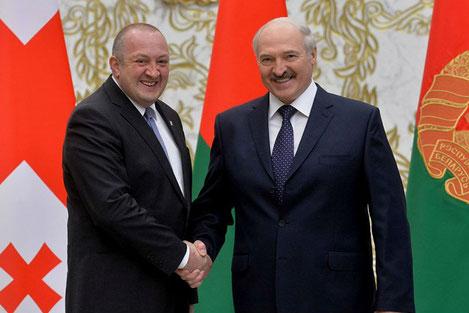Лукашенко: «Беларусь с величайшим уважением относится к Грузии и ее народу»