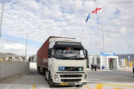 Грузия открыла новый КПП «Карцахи» на границе с Турцией