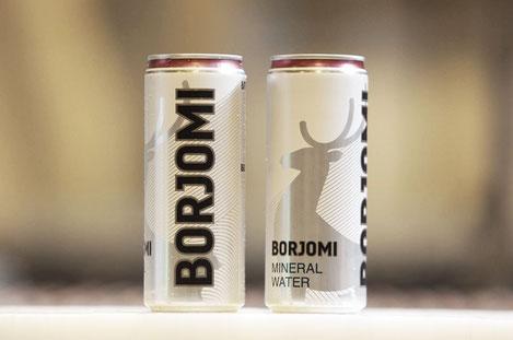 Скоро в продаже появится минеральная вода «Боржоми» в алюминиевых банках