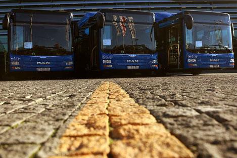 Впервые за полвека в Тбилиси построили автобазу общественного транспорта