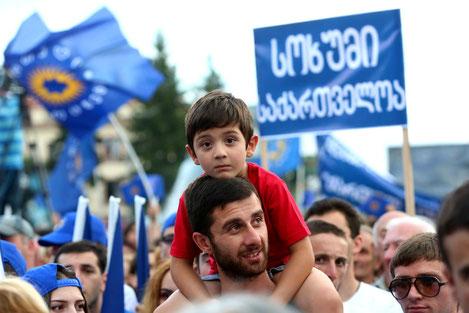 Премьер Грузии предложил Абхазам «Примирения и Мир»