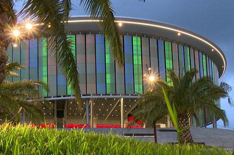 В новом концертном зале «Black Sea Arena» в Грузии, выступят Christina Aguilera, Vanessa Mae и группа Scorpions