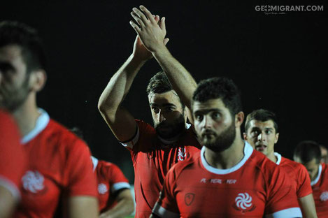 Грузия улучшила позиции в мировом рейтинге World Rugby