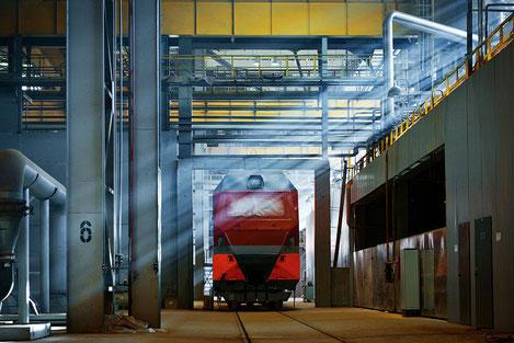 Грузия начинает производство современных грузовых электровозов