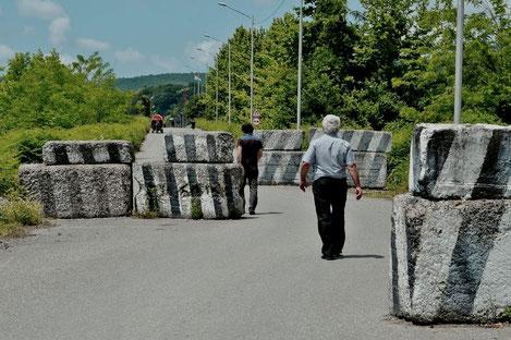 Впервые за долгое время восстановлено транспортное сообщение через Ингурский мост