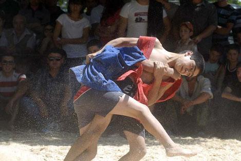 Грузинская борьба «чидаоба» вошла в список культурного наследия человечества