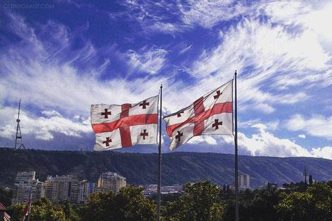 Сегодня «День государственного флага Грузии»