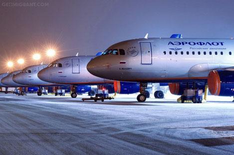 «Аэрофлот» увеличил число рейсов Москва - Тбилиси