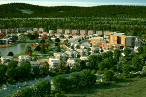 В Грузии начинается строительство нового города