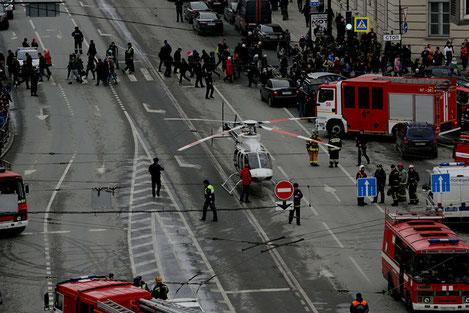 Грузия скорбит по погибшим во время взрыва в Петербурге