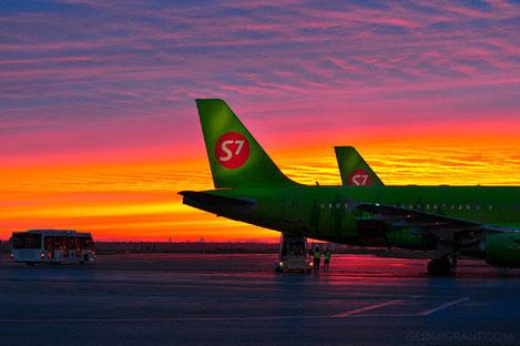 Авиакомпания S7 начинает распродажу билетов на рейсы «Москва - Тбилиси»