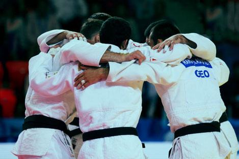 Грузинский клуб «Сагареджо» одержал победу на клубном чемпионате Европы по дзюдо