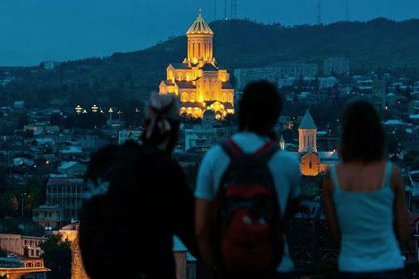 В Грузии зафиксирован рекордный рост числа посещающих страну россиян
