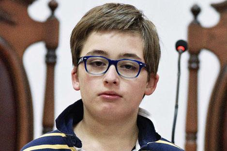 Сын Михаила Саакашвили научил подписчиков есть хинкали