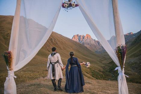 Грузия - самый простой и очень романтичный вариант заключения брака для иностранцев