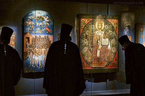 Старинные иконы из Грузии выставлены в Москве