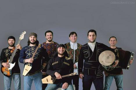 Грузинская группа «БАНИ» отправляется в большое турне по России