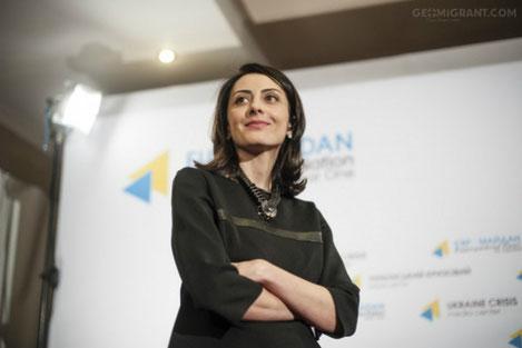 Национальную полицию Украины возглавила Хатия Деканоидзе