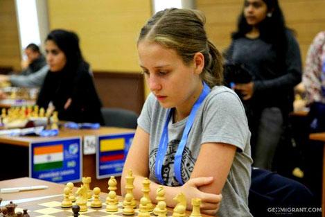 Грузинская шахматистка Нино Хомерики стала чемпионкой Европы