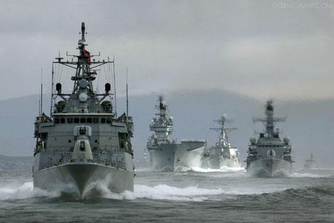 В Батуми вошли четыре боевых корабля НАТО