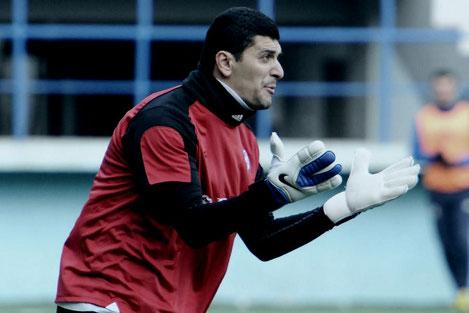 Бессменный вратарь футбольной сборной Грузии Гиорги Ломая завершил карьеру